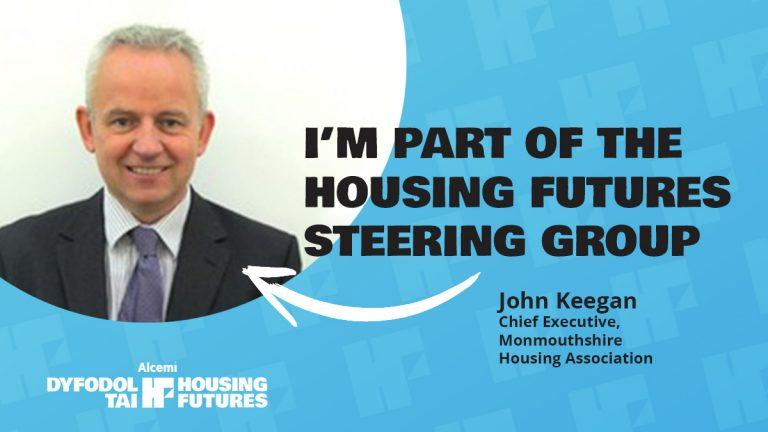 John Keegan joins CHC's Housing Futures steering group