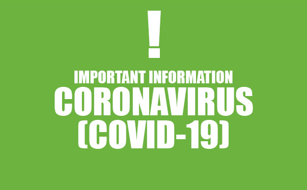 IMPORTANT CORONAVIRUS UPDATE FROM OUR CEO