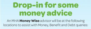 Drop in for some money advice