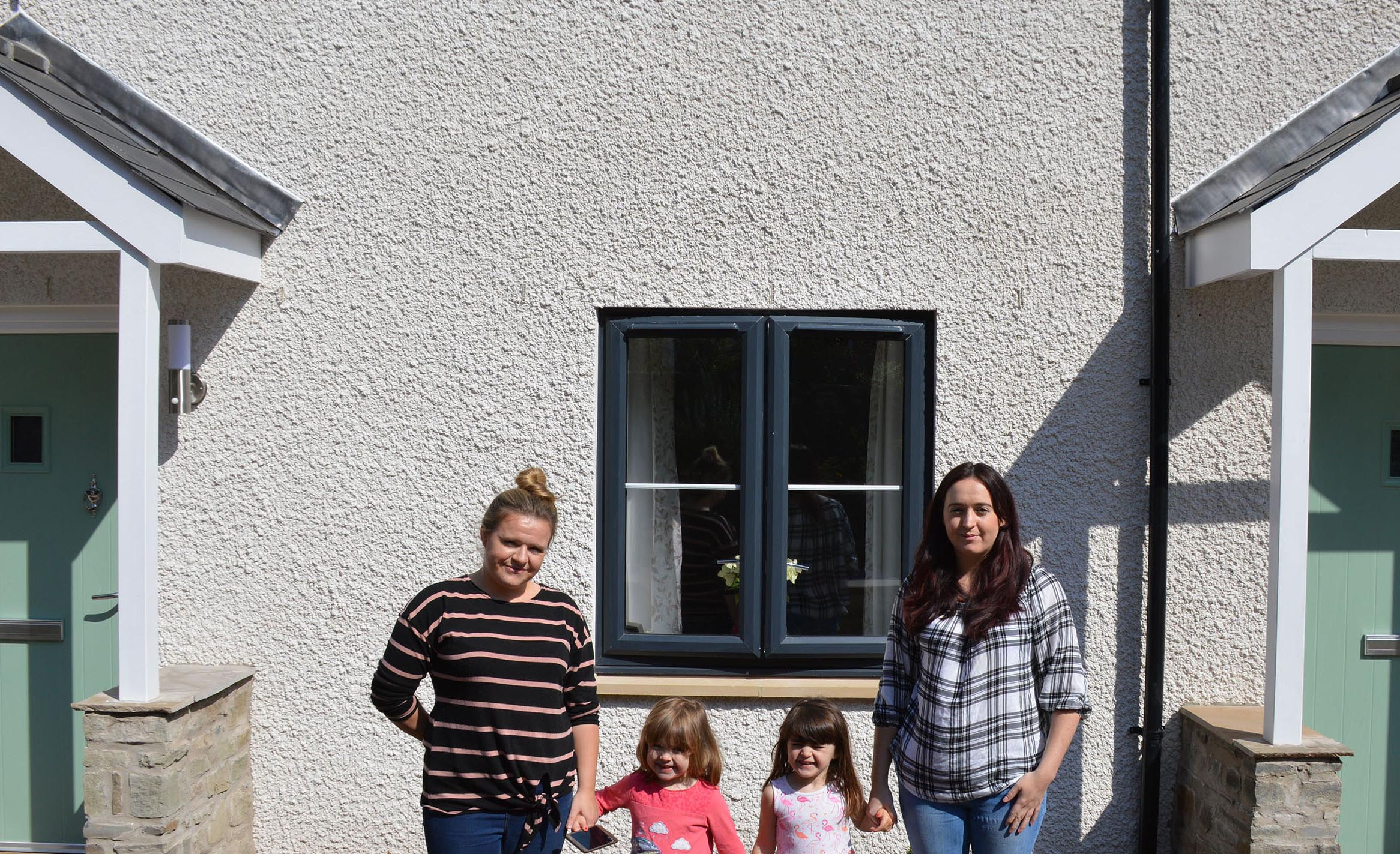 New homes make a difference for Tintern families