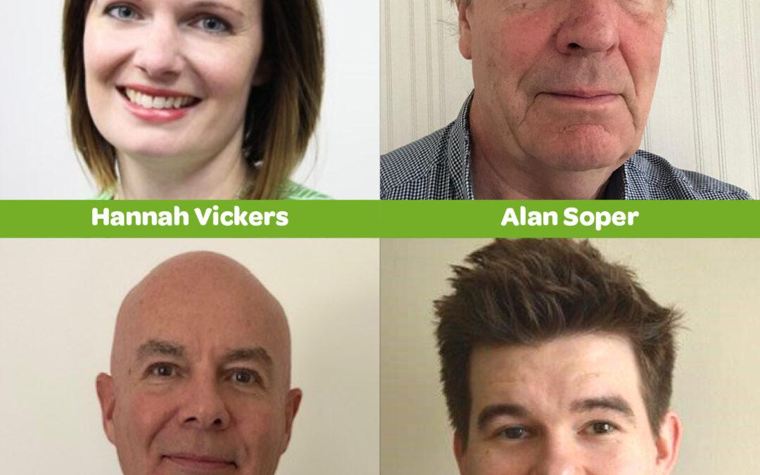 MHA welcome 4 new board members
