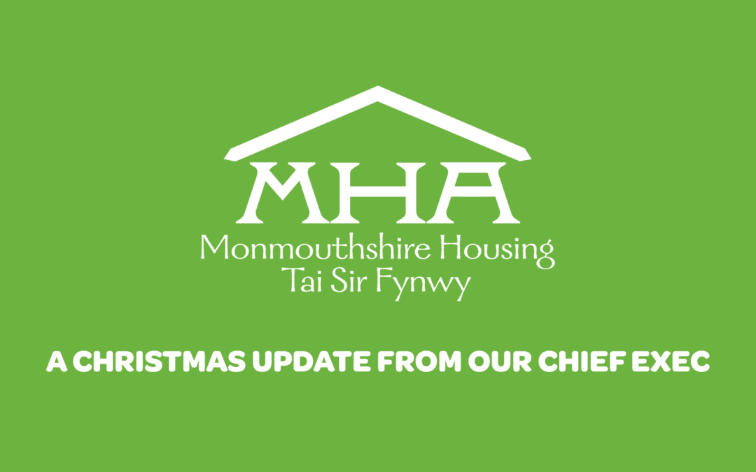 A Christmas update from our Chief Exec, John Keegan