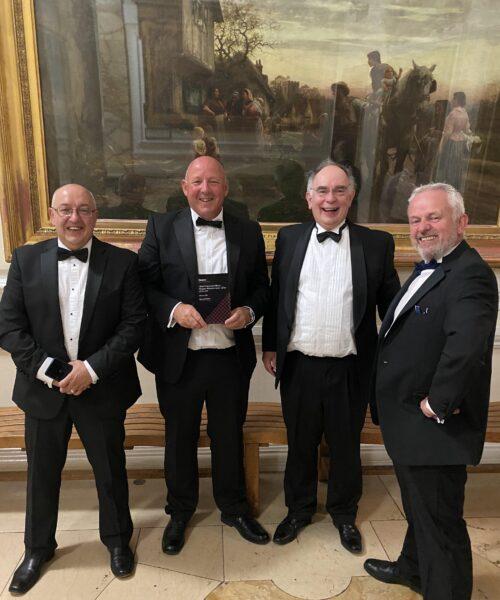 Gwyndaf Tobias wins Chief Finance Director Award
